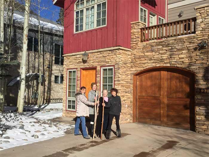 Blog'ettes at Colorado house 1
